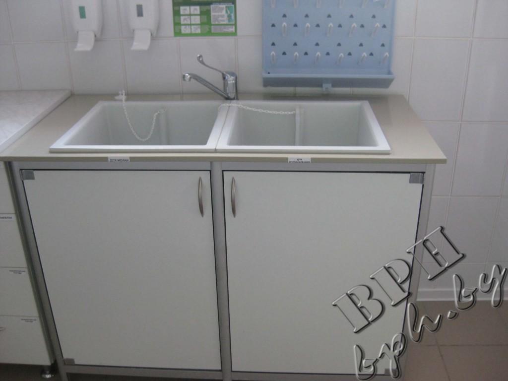 Мытье лабораторной посуды в лаборатории